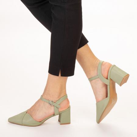 Pantofi dama Naden verzi2