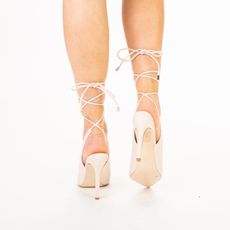 Pantofi dama Neiva bej3