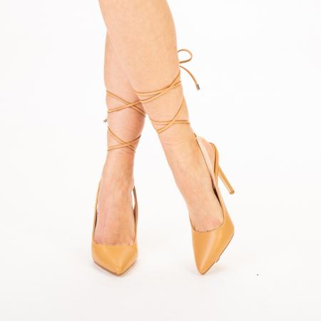 Pantofi dama Neiva camel0