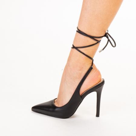 Pantofi dama Neiva negri2