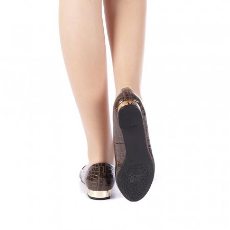 Pantofi dama Povva khaki3