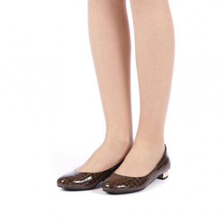 Pantofi dama Povva khaki2