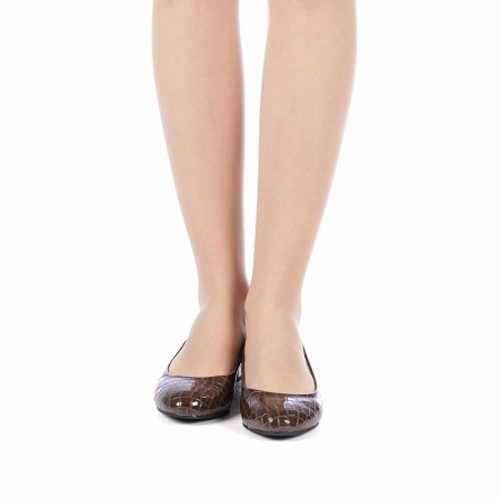 Pantofi dama Povva khaki4