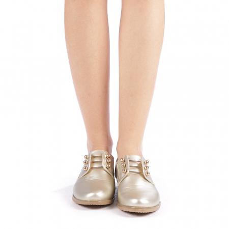 Pantofi dama Radmila aurii3