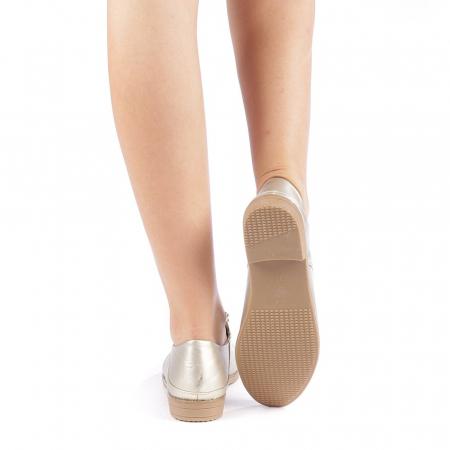 Pantofi dama Radmila aurii2