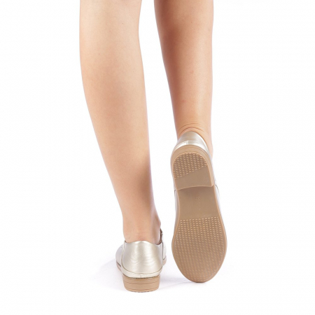 Pantofi dama Rafila aurii2