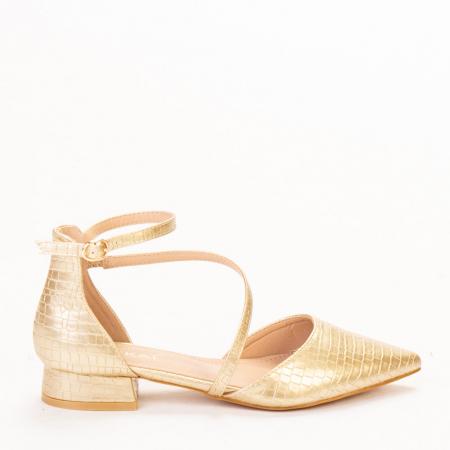 Pantofi dama Safa aurii0