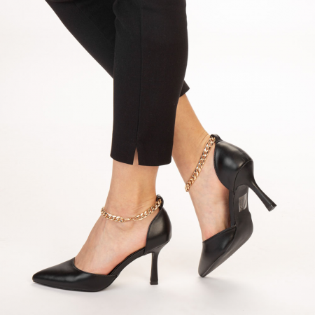 Pantofi dama Sofie negri2