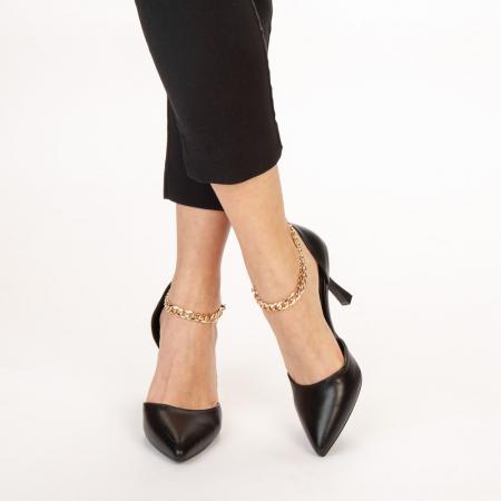 Pantofi dama Sofie negri1