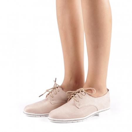 Pantofi dama Tarra bej1