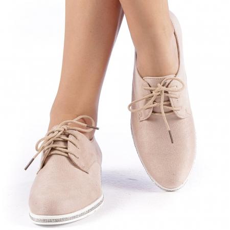 Pantofi dama Tarra bej4