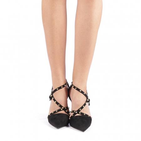 Pantofi dama Ursula negri3