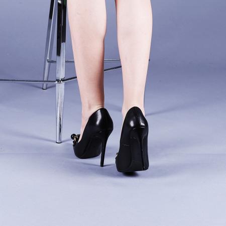 Pantofi dama Valentina negri3