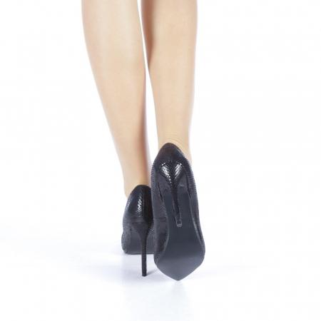 Pantofi dama Veria negri3