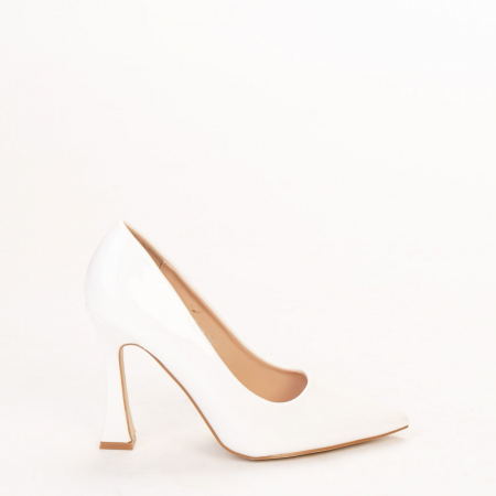 Pantofi dama Wanda albi0