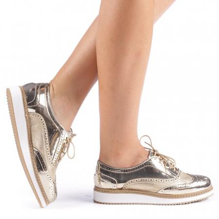 Pantofi dama Yvona aurii0