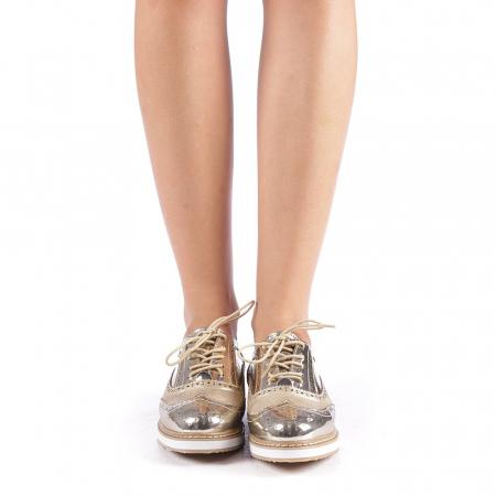 Pantofi dama Yvona aurii3