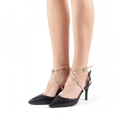 Pantofi dama Zelma negri1