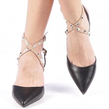 Pantofi dama Zelma negri2