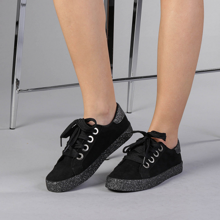 Pantofi sport dama Adisa negri0