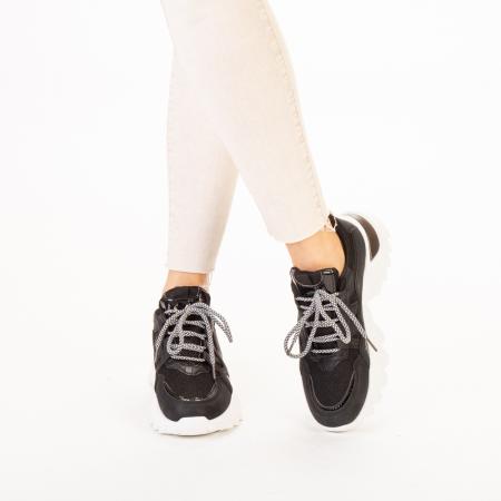Pantofi sport dama Alaya negri1