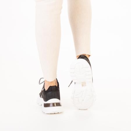 Pantofi sport dama Alaya negri3