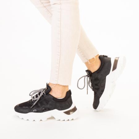 Pantofi sport dama Alaya negri2