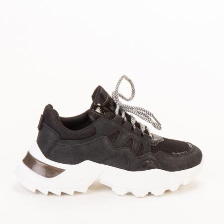 Pantofi sport dama Alaya negri0