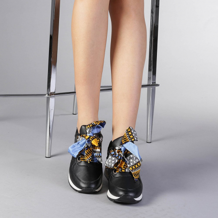 Pantofi sport dama Alette negri1