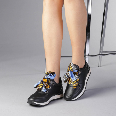 Pantofi sport dama Alette negri2