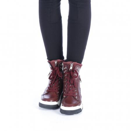 Pantofi sport dama Amanda grena4