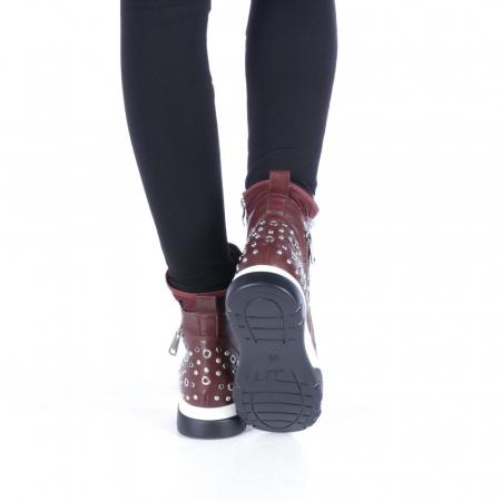 Pantofi sport dama Amanda grena3