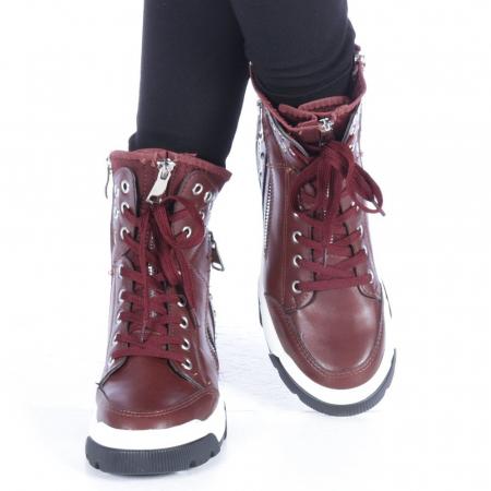 Pantofi sport dama Amanda grena1