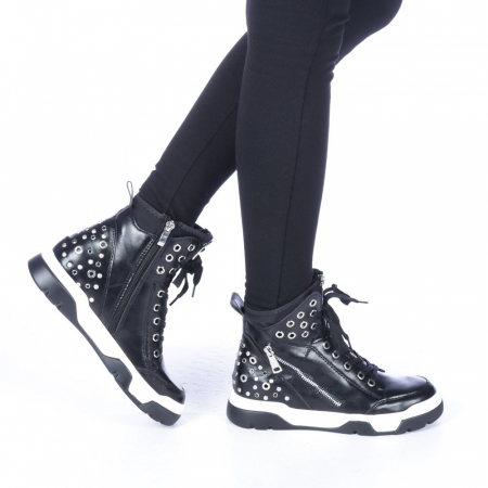 Pantofi sport dama Amanda negri0