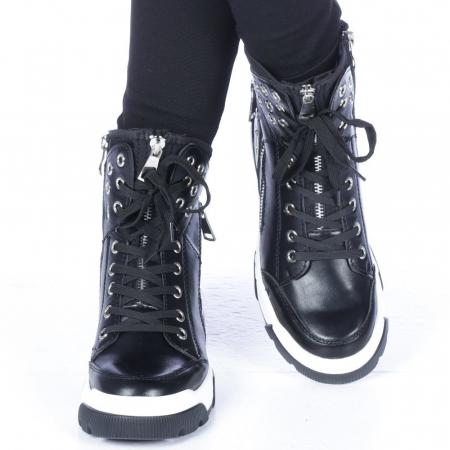 Pantofi sport dama Amanda negri1