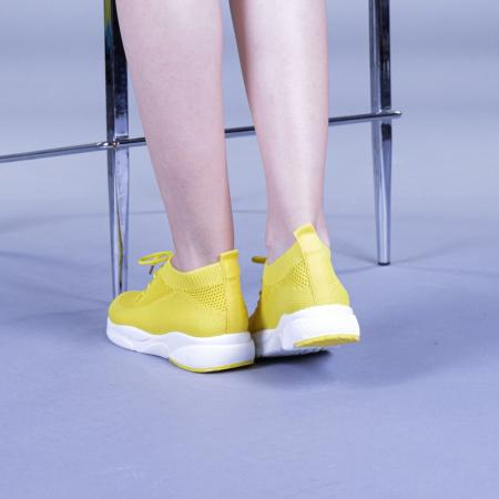 Pantofi sport dama Anamarie galbeni3