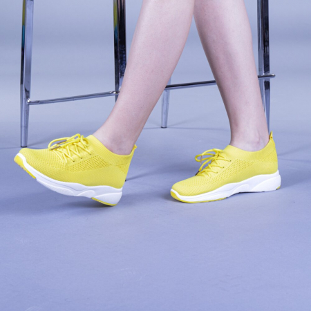Pantofi sport dama Anamarie galbeni0