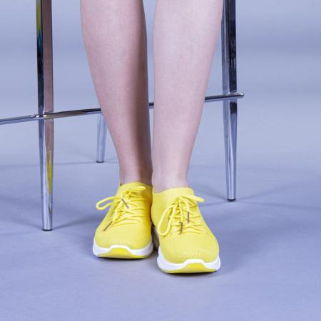 Pantofi sport dama Anamarie galbeni1