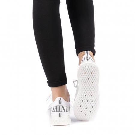 Pantofi sport dama Antonia albi3