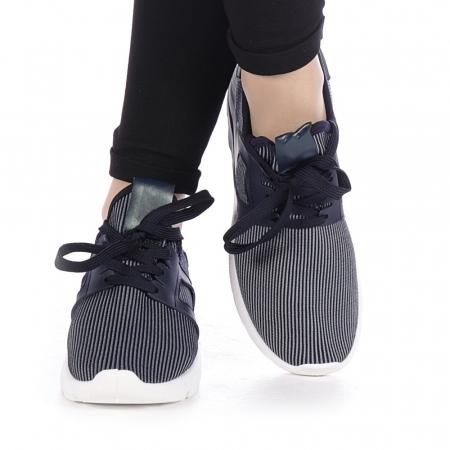 Pantofi sport dama Anyda albastri1