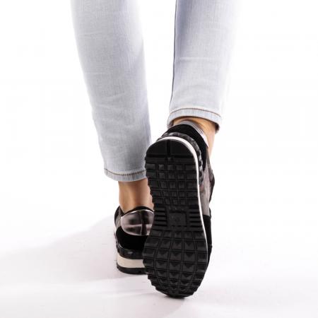 Pantofi sport dama Athena negri1