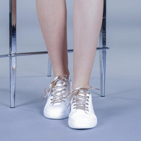 Pantofi sport dama Augustina aurii1