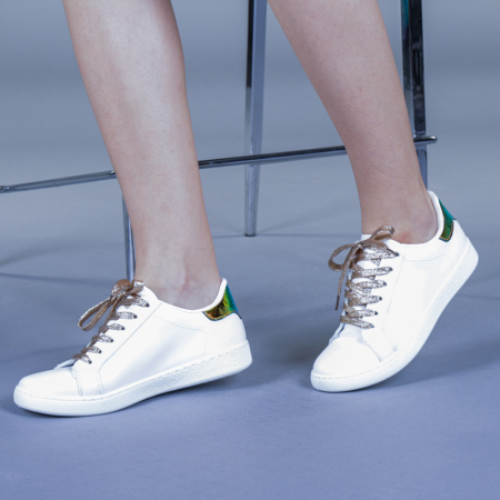 Pantofi sport dama Augustina aurii2
