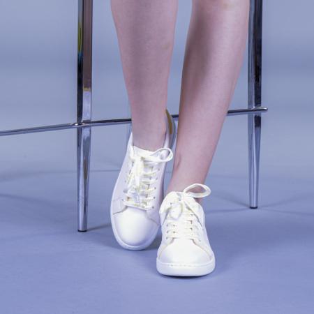 Pantofi sport dama Augustina galbeni1