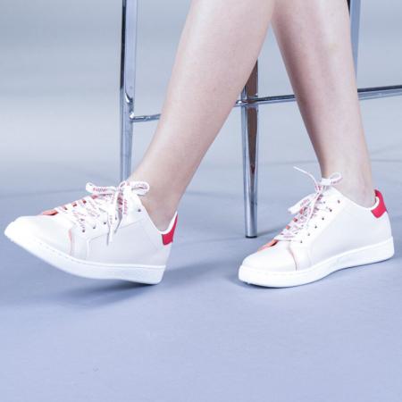 Pantofi sport dama Augustina rosii3
