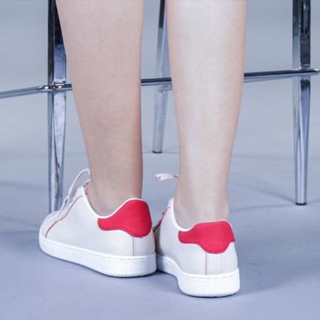 Pantofi sport dama Augustina rosii2