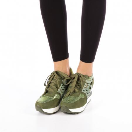 Pantofi sport dama  Bera army3