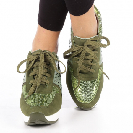 Pantofi sport dama  Bera army2