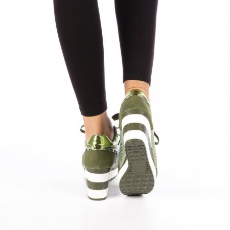 Pantofi sport dama  Bera army4