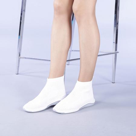 Pantofi sport dama Catalina albi1